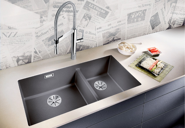 Кухонная мойка BLANCO SUBLINE 480/320-U